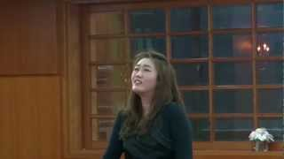 나같은 죄인 살리신  소프라노 최선미 Amazing Grace Soprano : Choi Sun-Mi BPMC