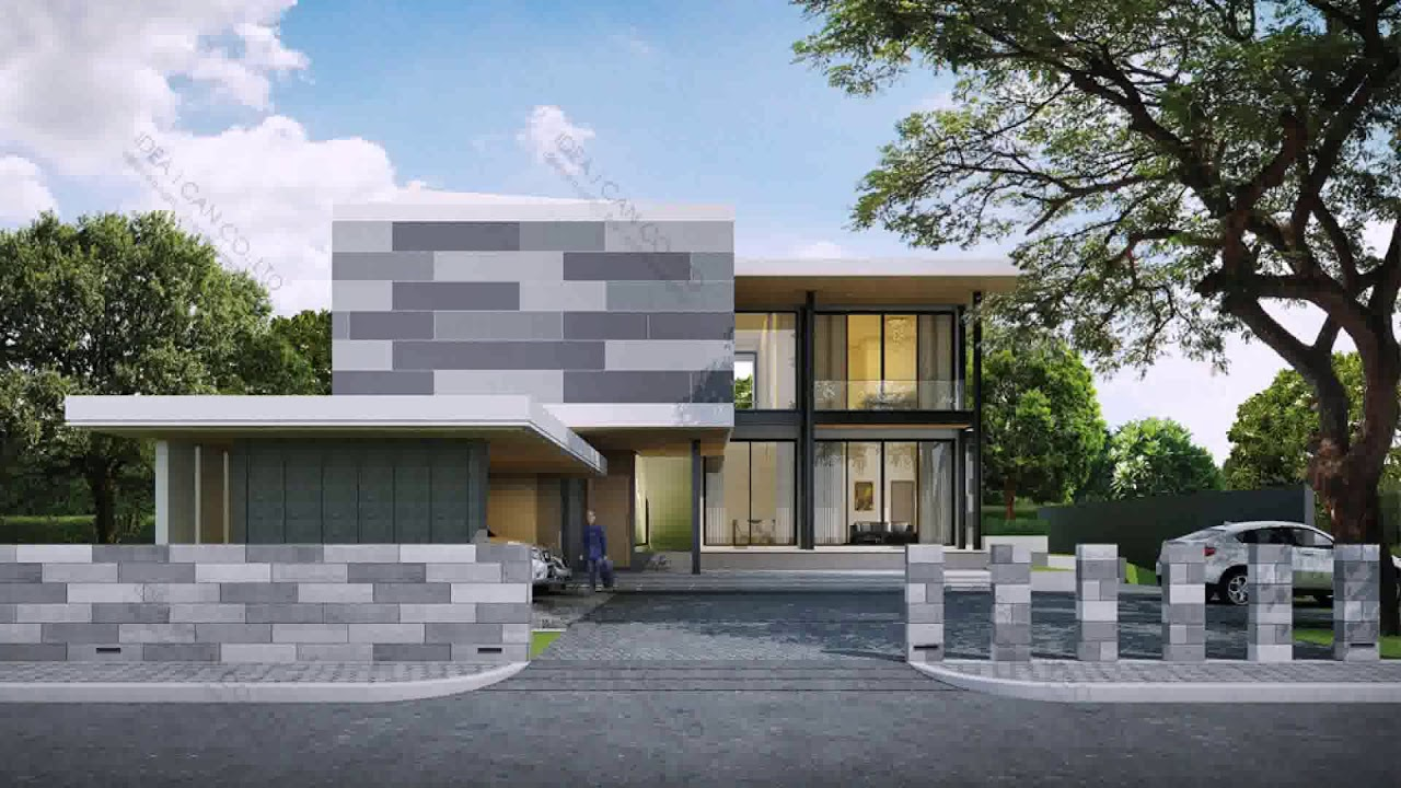 Modern House Designs Thailand Gif Maker Daddygifcom