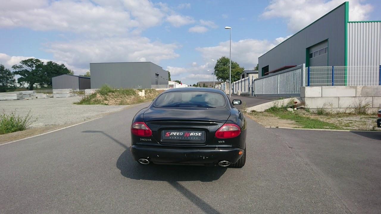 Jaguar XKR - Exhaust Sound - Speed Noise