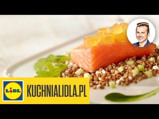 Najlepszy Soczysty Losos Z Sosem Z Rukoli Karol Okrasa Przepisy Kuchni Lidla Youtube