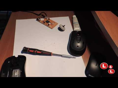 How to Clean a Microsoft mouse