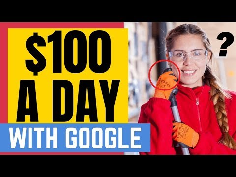 HOW TO MAKE $100 A DAY ONLINE FROM GOOGLE 🤑 BRAND NEW TUTORIAL 🤑🤑🤑 thumbnail