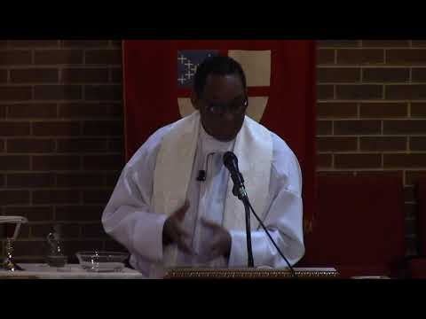 """""""Just Believe"""", The Rev  Dr  Fulton L  Porter, III, St Thomas Episcopal Chicago, 04 08 18"""