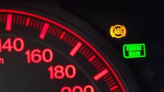 видео Test zegarów Honda Accord VII (acura 7 error check, self diagnostic)