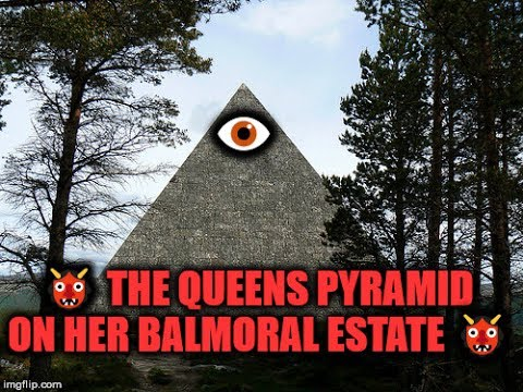 👹 THE QUEENS PYRAMID ON HER BALMORAL ESTATE 👹 & More Esoteric Symbols of Scotland 😮👁