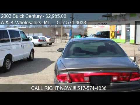 2003 Buick Century Custom - for sale in Lansing, MI 48910