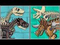 Dino Robot T.Rex & Triceratops Fossails - Full Game Play 1080 HD