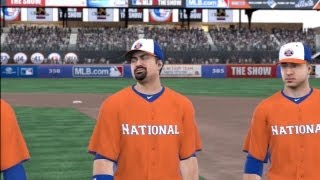 MLB 13 The Show Gameplay - 2013 All-Star Game