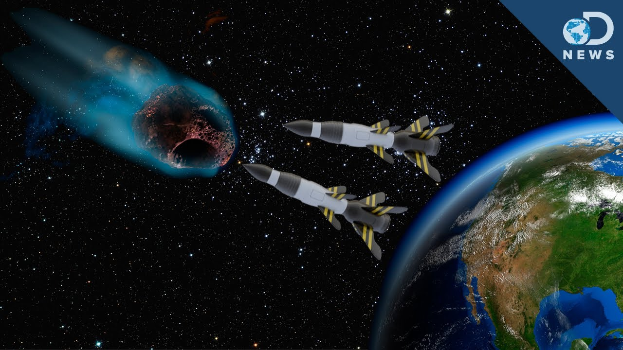 Image result for Spacecraft Could Nuke Dangerous Asteroid To Defend Earth