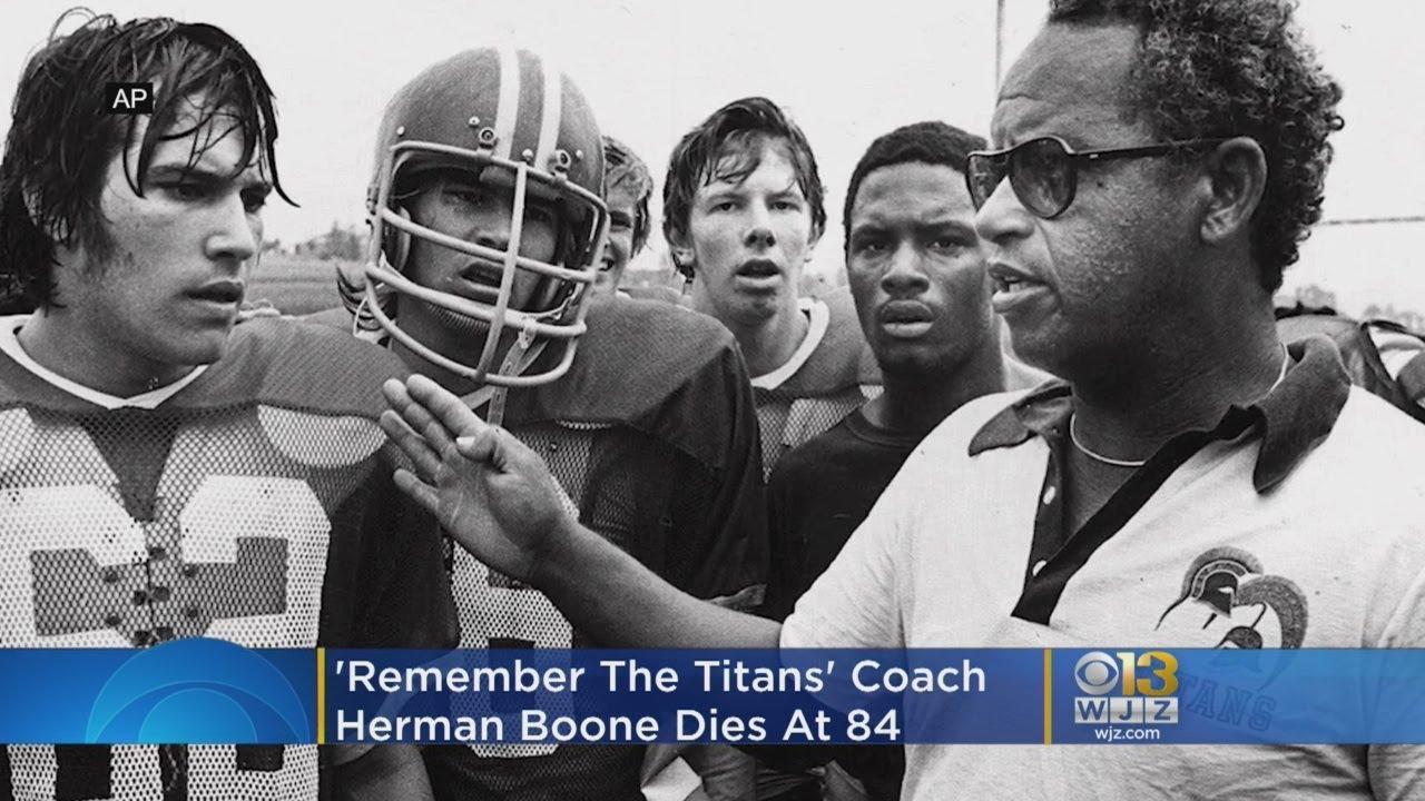 Herman Boone, football coach played by Denzel Washington in ...