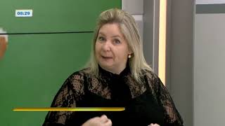PSICOPEDAGOGA DO CENSIE EM ENTREVISTA NA RIC-TV