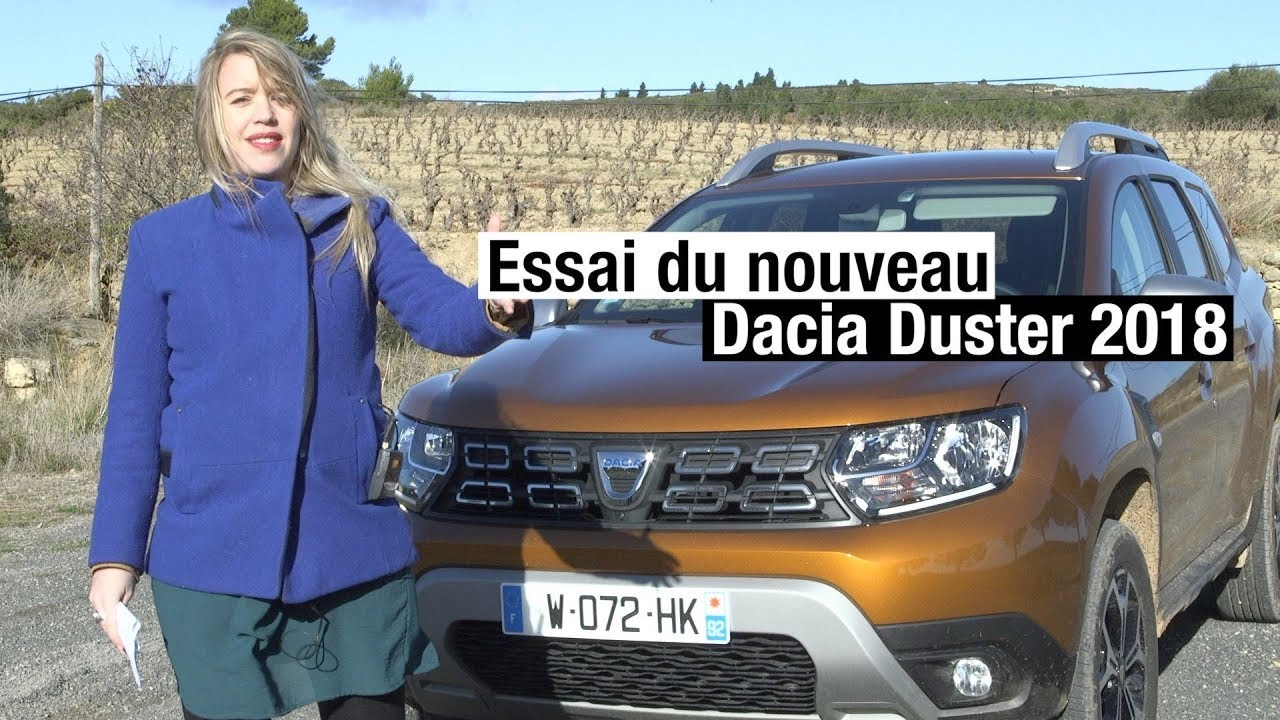 essai du nouveau dacia duster 2 2018 1 2 tce 125ch youtube. Black Bedroom Furniture Sets. Home Design Ideas