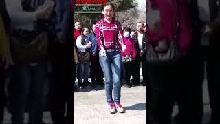 Уличные танцы в Китае