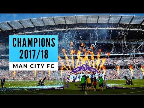 Man City vs Huddersfield Town ~ Premier League Champions Lift Trophy! 🏆 Fans View!