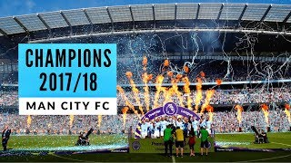 Man City vs Huddersfield Town ~ Premier League Champions Lift Trophy! 🏆 Fans View!