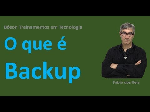O Que é Backup - Conceitos E Importância