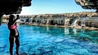 Sea Caves Beach Ayia Napa Cyprus