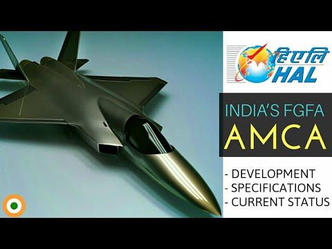 HAL AMCA - All Updates About India's Advanced Medium Combat Aircraft | AMCA Current Status (Hindi)