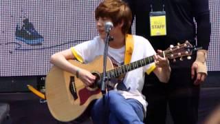 130523 Yoo Seung Woo singing Akdong Musician