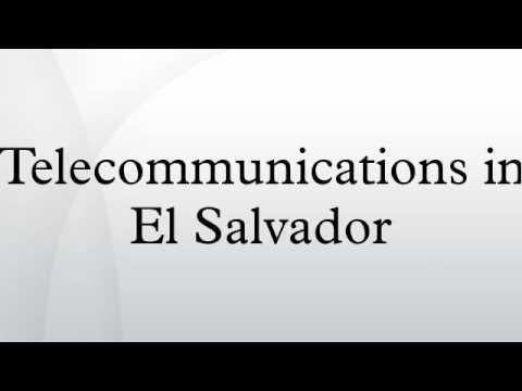 Telecommunications in El Salvador
