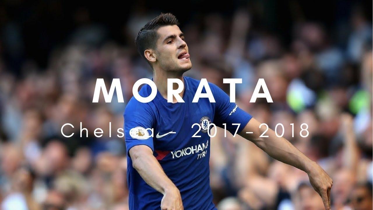 Alvaro Morata 2017/2018 Highlights For Chelsea HD/4K
