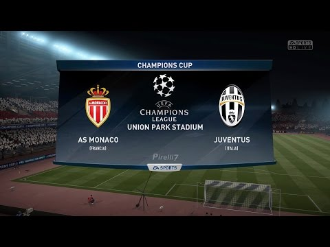 AS Monaco vs Juventus FC |Champions League Semi-Finals | 3/5/2017 FIFA 17 Predicts by Pirelli7