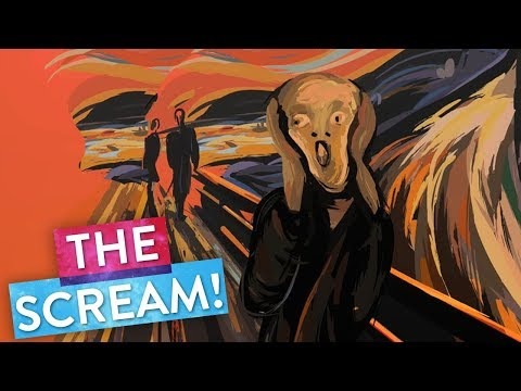 """Explore """"The Scream"""" 😱 by Edvard Munch Thanks to Virtual Reality 