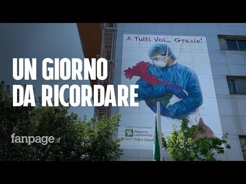 """Bergamo, il giorno senza Covid in Terapia intensiva: """"A marzo era piena, il mondo non capiva"""