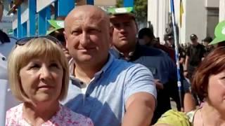 """НАРОДНИЙ МІТИНГ-ПРОТЕСТ  """"НЕ ДАМО ВКРАСТИ ЗЕМЛЮ"""""""