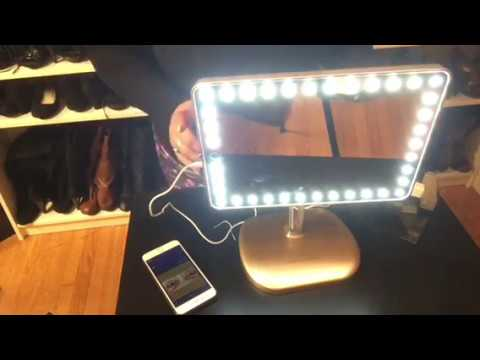Impressions Vanity Touch Pro Led Makeup Mirror Unboxing