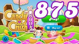 Candy Crush Soda Saga Level 875 No Boosters