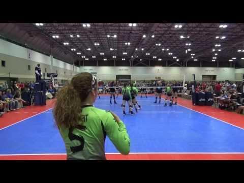 Nebraska ONE 15 Titanium (Atley Carey #15) vs  San Antonio Magic - Set 2