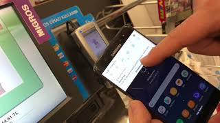Samsung Note Fan Edition Bonus Flaş NFC ile Mobil Ödeme