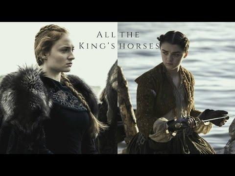 Arya & Sansa Stark - All The King's Horses
