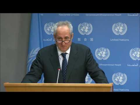 ICP Asks UN Spox About UN Corruption, Burundi, Myanmar, Gambia, Ban Ki-moon's Records, UN House