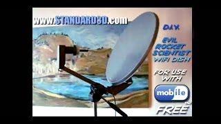 How to build a DIY long range wireless usb free wifi boost antenna satellite dish booster