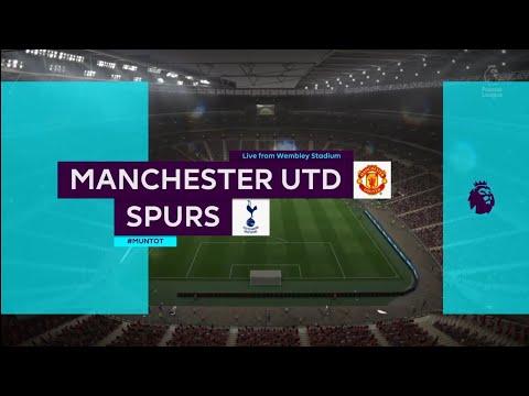 FIFA 18 | Premier League | Manchester Utd v Spurs | Wembley Stadium