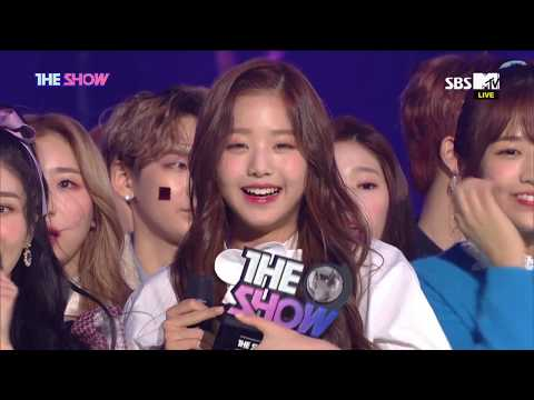 IZ*ONE, 1st WIN! THE SHOW CHOICE [THE SHOW 181113]
