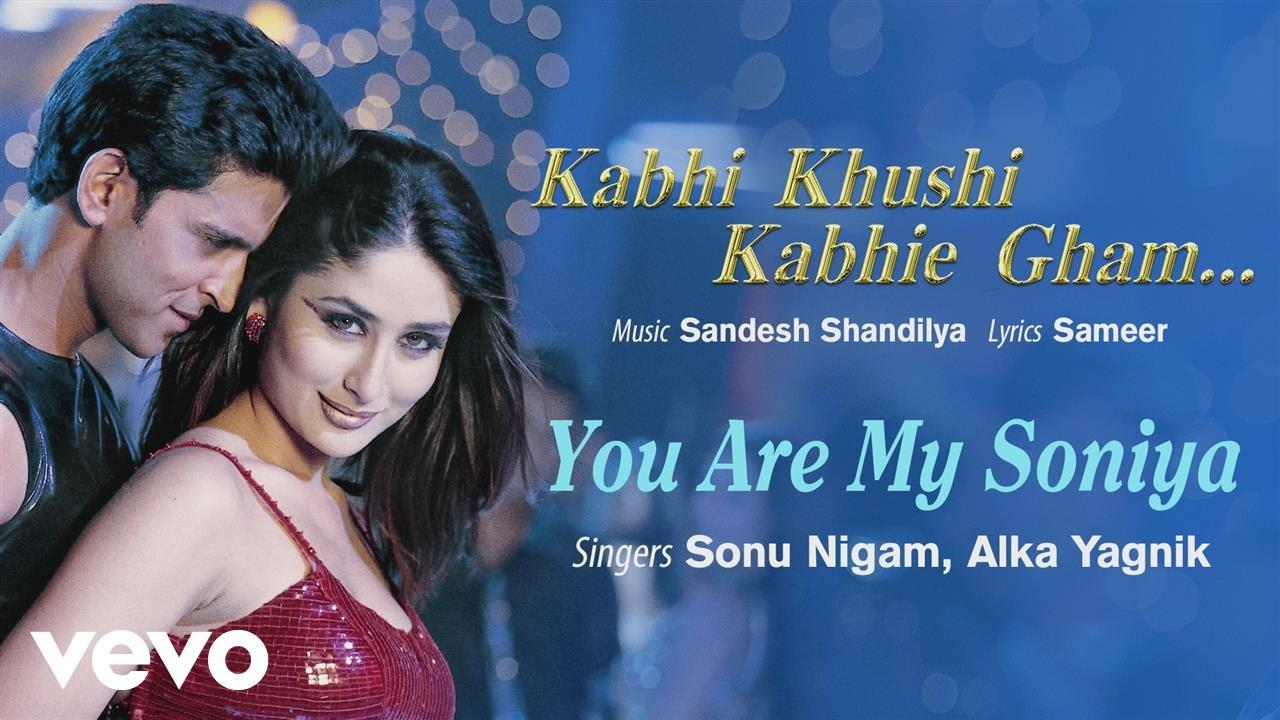 Download Official Audio Song | Kabhi Khushi Kabhie Gham | Alka Yagnik | Sonu Nigam | Sameer