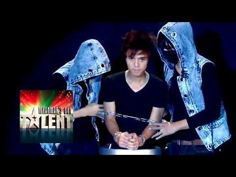 Magician Winner Of Myanmar Got Talent 2015 Final - Wai Yan Naing