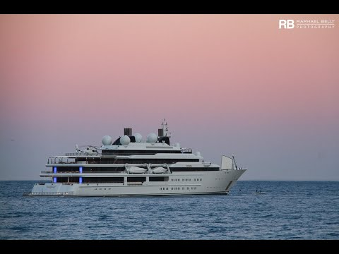 Katara See The Emir Of Qatar S Crazy Us 300 000 000 Super Yacht