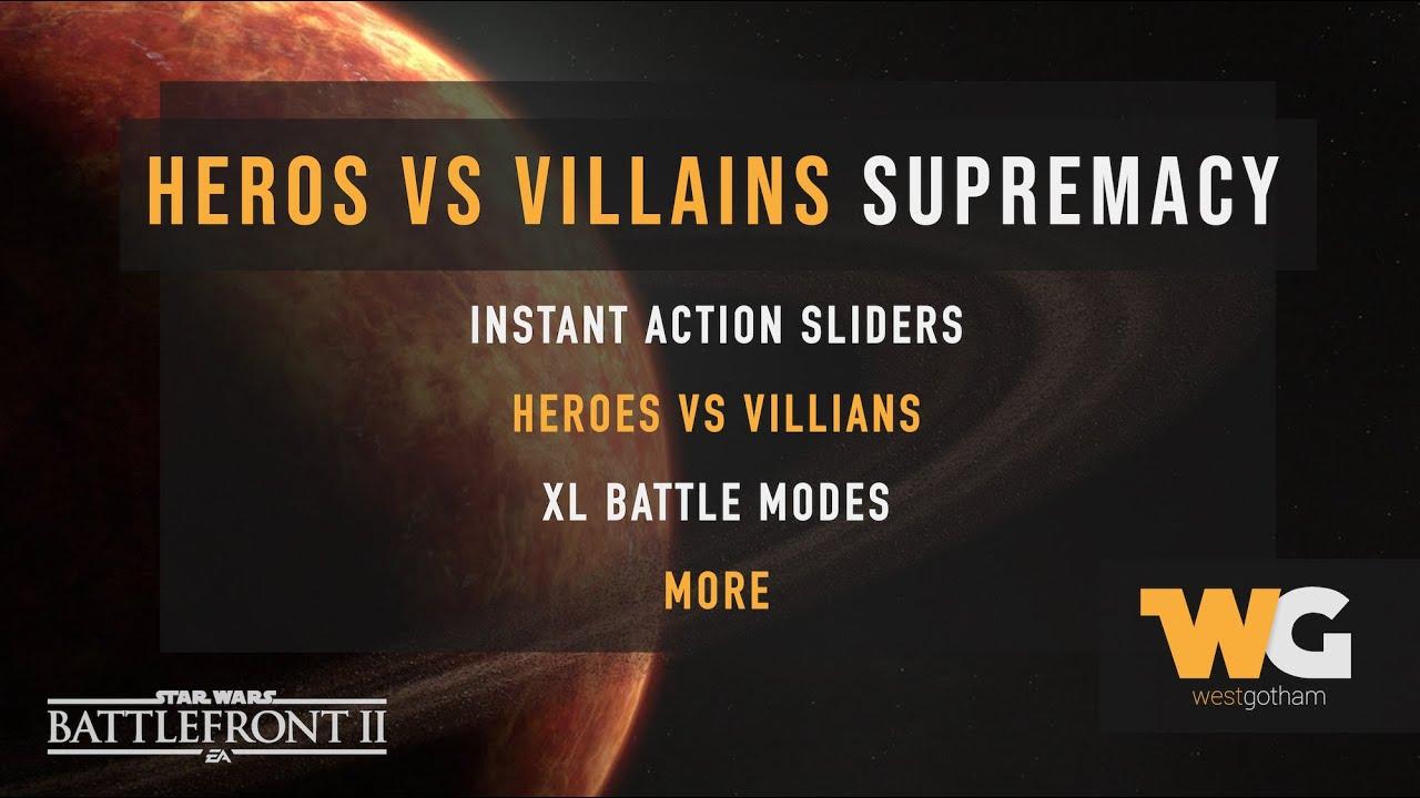 Download How to Play Offline Heroes vs Villains Supremacy: Star Wars Battlefront 2