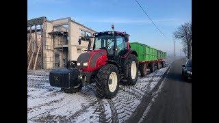 Słomek_mówi - Vlog94- Transport szlaki (24t) Valtra N101+ HL 8011+ D55
