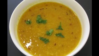 Дал таркари (Суп из гороха и моркови)
