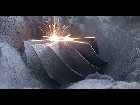 New method of manufacturing using powder bed: Additive Manufacturing with Selective Laser Melting