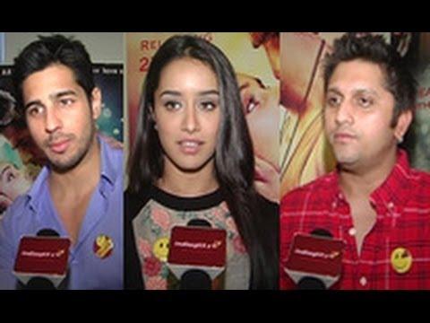 Sidharth Malhotra, Shraddha Kapoor, Mohit Suri Talk About 'Ek Villain' Success   Interview   Reteish