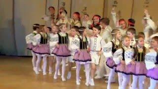 Ритмы детства 2016. Латышский танец