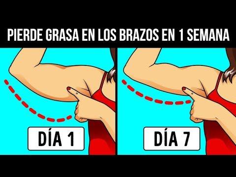 Cómo Perder La Grasa De Los Brazos En 7 Días: ¡No Más Brazos Flácidos!