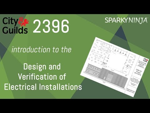 2396 Ep 1 Design And Verification Of Electrical Installations - Introduction