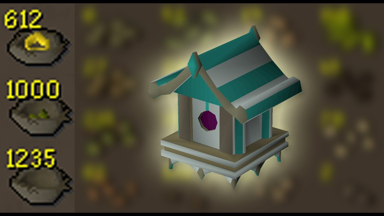 Opening 1000 Seeded Birdnest Loot From 273 Birdhouse Runs Osrs Youtube How do i open the birdhouse to clean it if the entire house is glued and screwed together? opening 1000 seeded birdnest loot from 273 birdhouse runs osrs